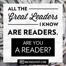 Leaders are Readers Hyatt